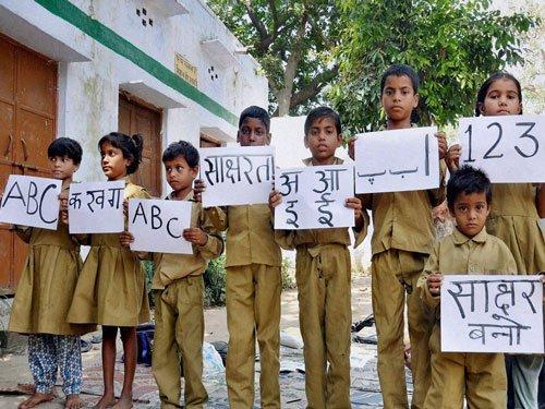 About half of Muslim, Hindu women illiterate