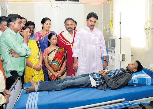 'Free dialysis centres in all 28 constituencies'