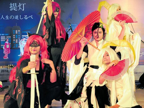 It was an event to feel, savour and be Japanese