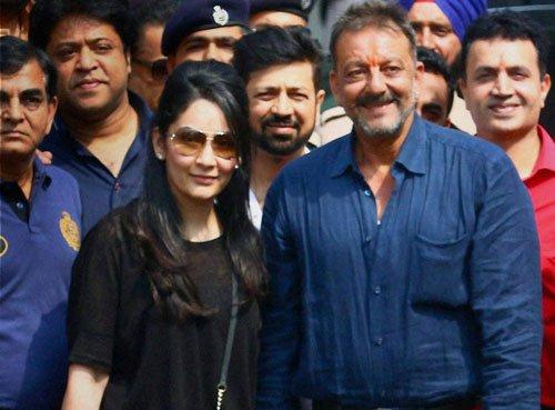 I am not a terrorist: Sanjay Dutt after coming out of jail