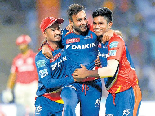 Mishra spins Dardevils to crushing win