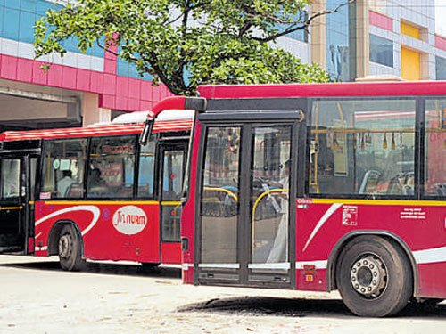 Bus travel in city set to go 'intelligent' this month