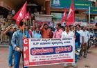 CPM stages protest against MESCOM
