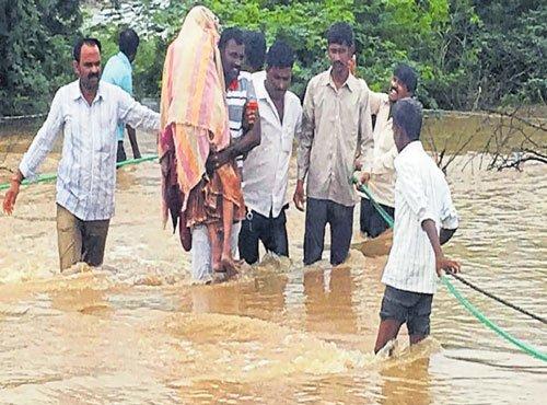Flood havoc in H-K region