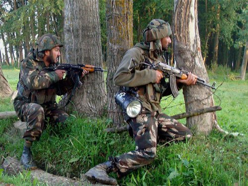 Encounter on between forces, militants