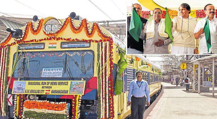 Mega push for suburban rail as Prabhu, CMsign pact