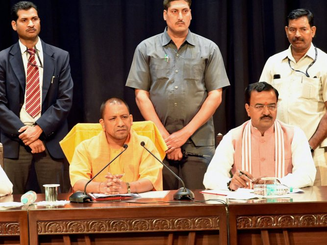 UP CM Adityanath asks officials to declare assets in 15 days