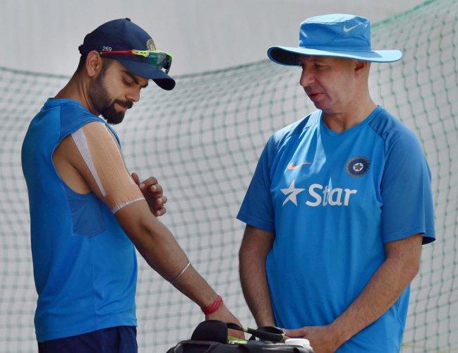 Kohli skips batting at nets, Shreyas called as cover