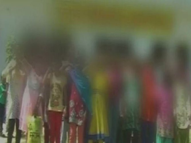 Girls stripped in UP school to check menstrual blood