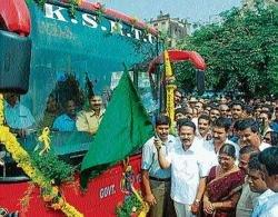 Mangalore-Manipal Volvo bus service begins