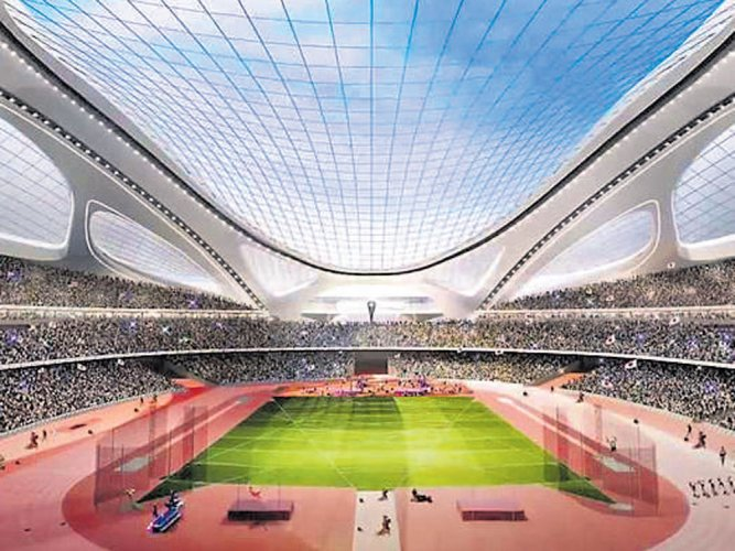 Olympic stadium for 2020