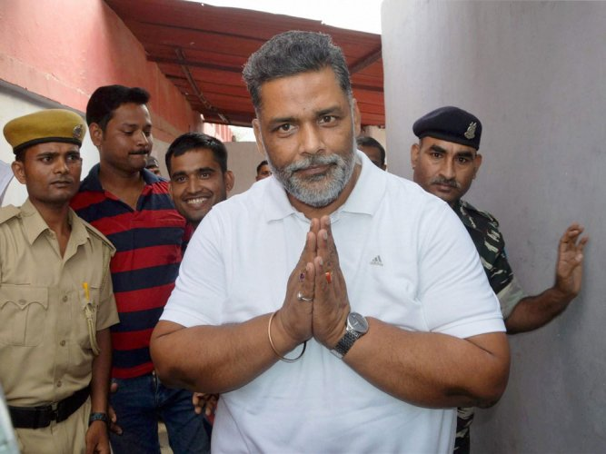 Pappu Yadav released from jail