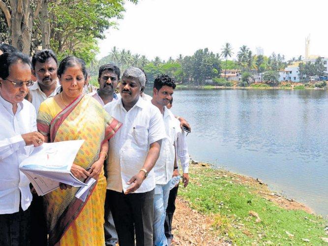 Union Minister Nirmala Sitharaman to aid revival of Kalena Agrahara lake