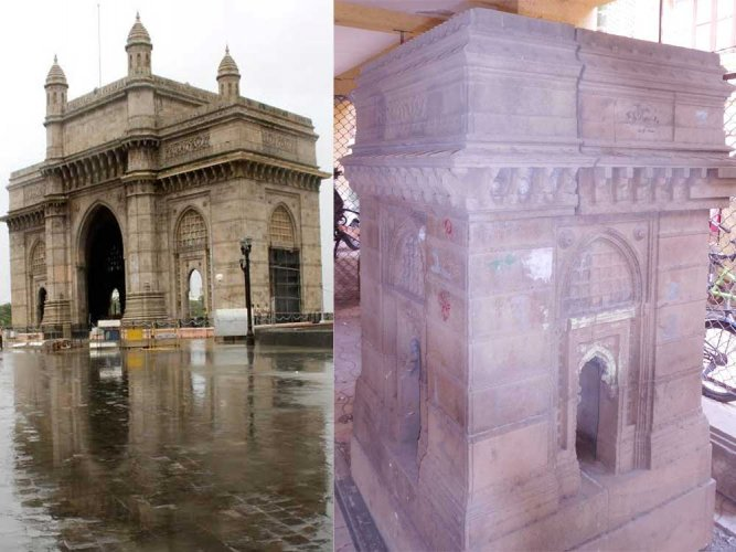 The little-known of replica of Gateway of India!