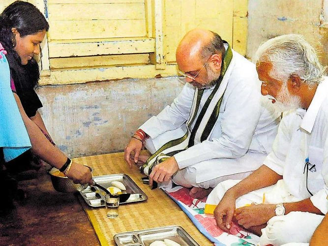 Will examine legal options against killers of BJP workers, says Shah