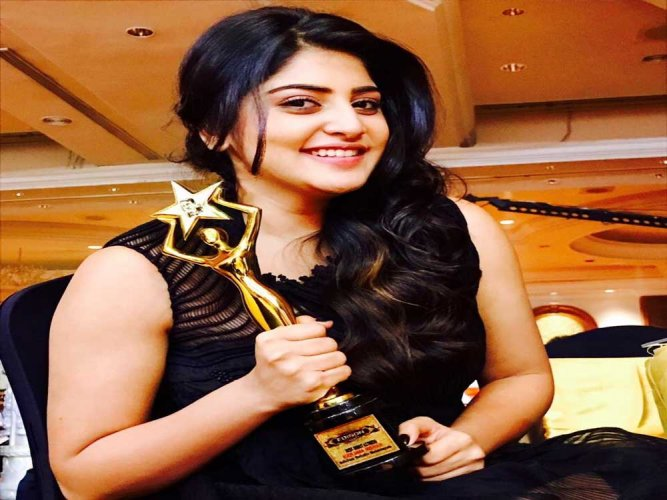 My father is proud that I hit back at trolls: Manjima Mohan