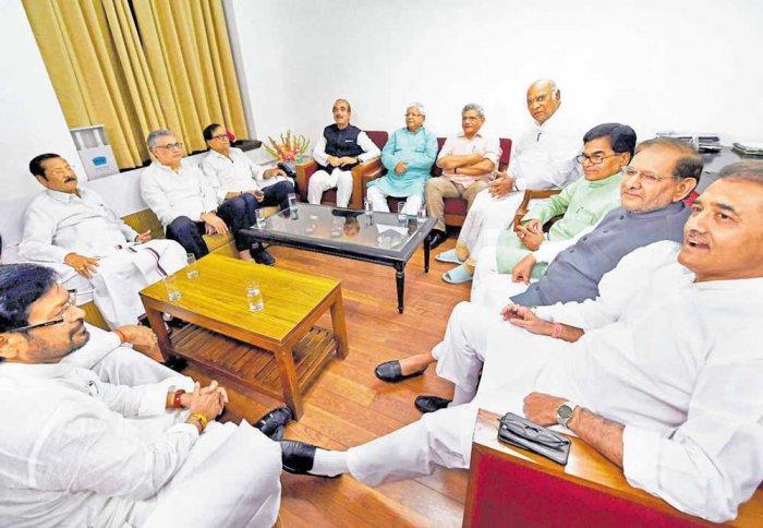 Rift develops in Opposition over joint nominee