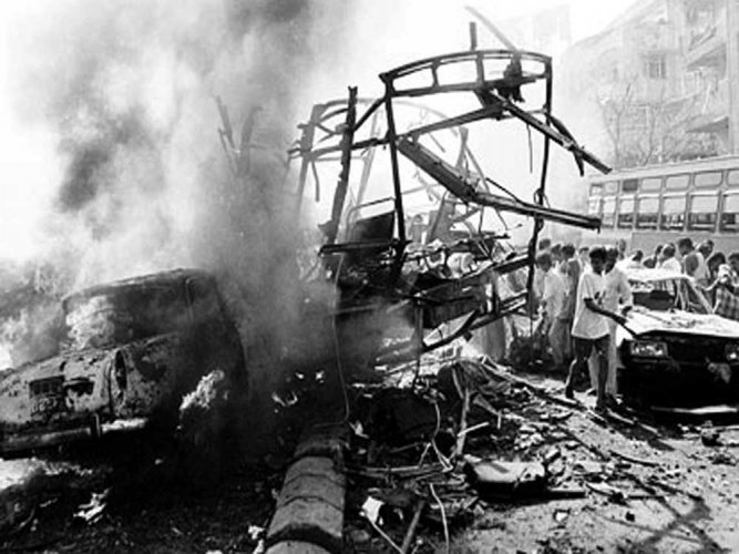 Two dozen accused in 1993 blasts case still wanted
