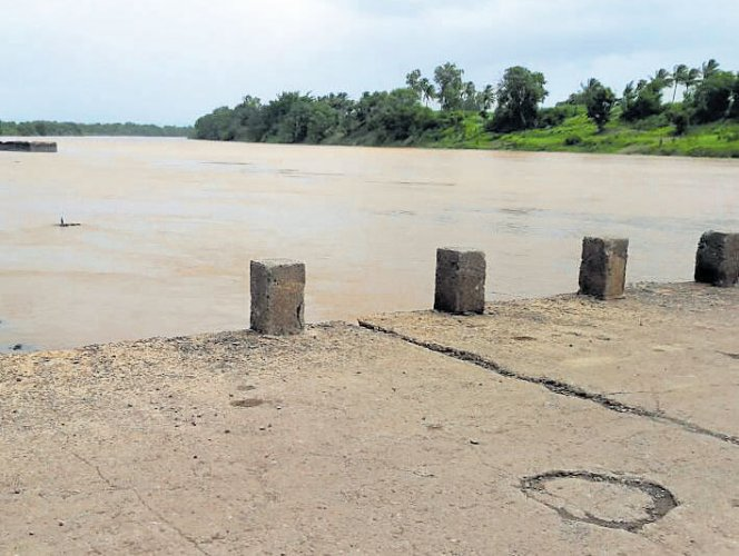 Rivers in spate as rain continues to lash parts of state