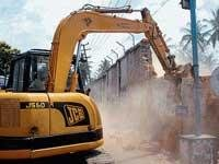 I G Road widening works begin
