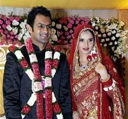 Shoaib, Sania are finally man and wife