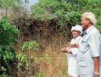 Archaeologist visits Adka fort
