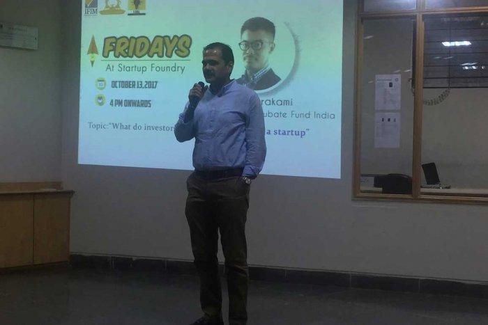 IFIM organises 'Friday's@Startup Foundry'