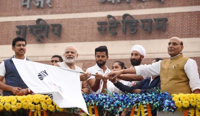 'Run for unity' to keep Patel's legacy intact, says Modi