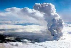 Volcanic ash halts air traffic
