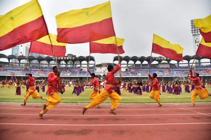 Debate over hoisting Kannada flag at state event