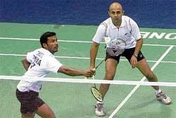 Saina, Aditi keep Indian flag high