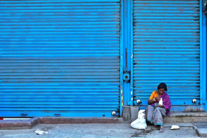 Shut till now, standalone shops will be allowed to open in green zones in Karnataka. Credit: AFP Photo