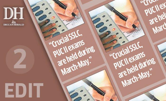 Karnataka polls must not disrupt exams