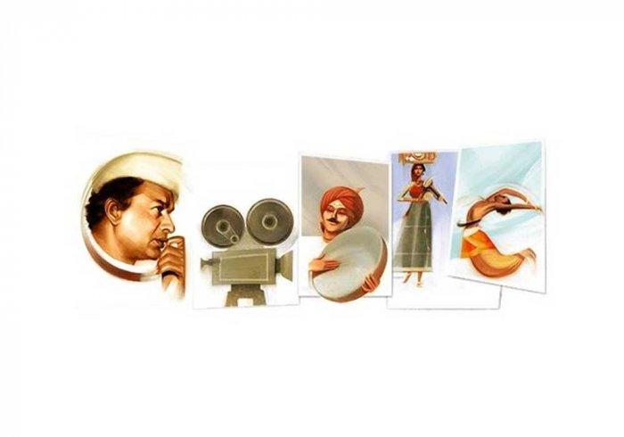 Google celebrates V Shantaram's 116th birthday with doodle