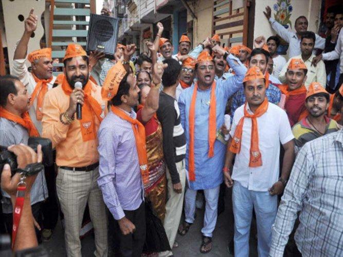 Three more PAAS leaders join BJP