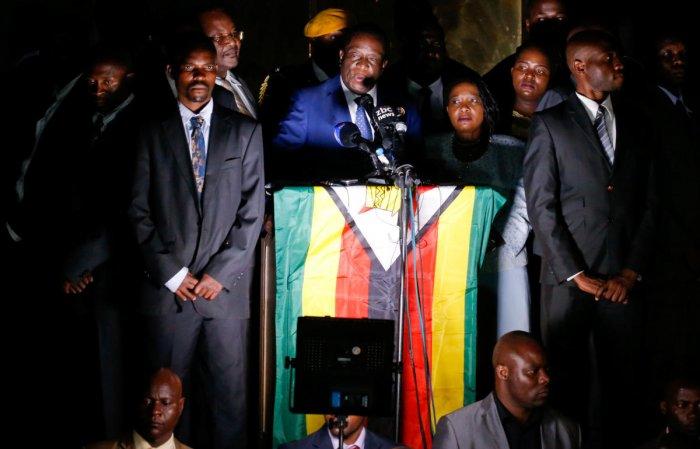 Zimbabwe's next leader prepares to take power