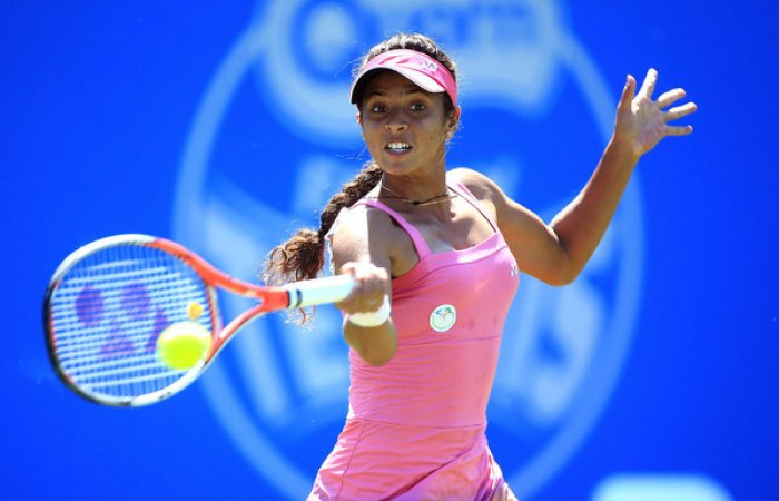 Ankita in quarters for first time