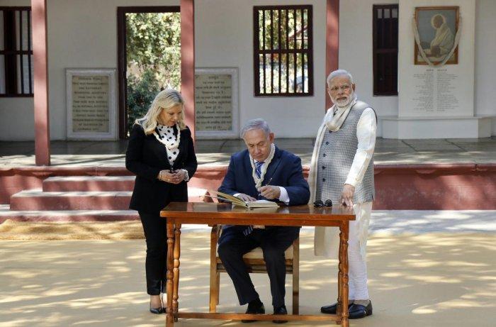 Mahatma Gandhi humanity's great prophet, says Netanyahu