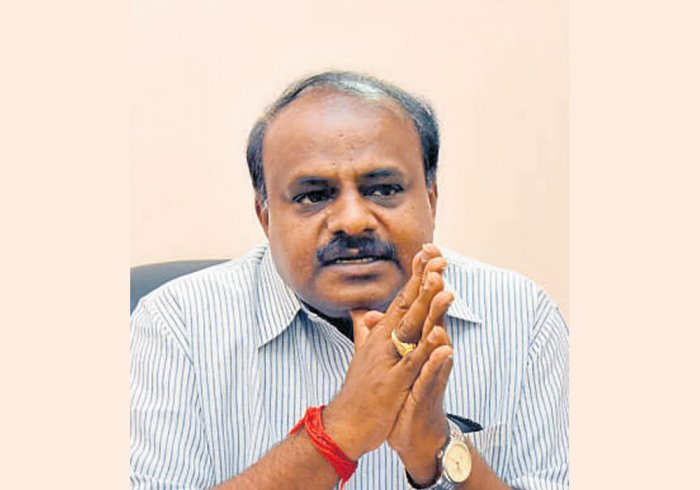 CM has deputed four ministers to collect money: HDK