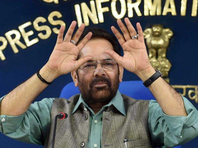 BJP govt has ended appeasement, vote bank politics: Naqvi