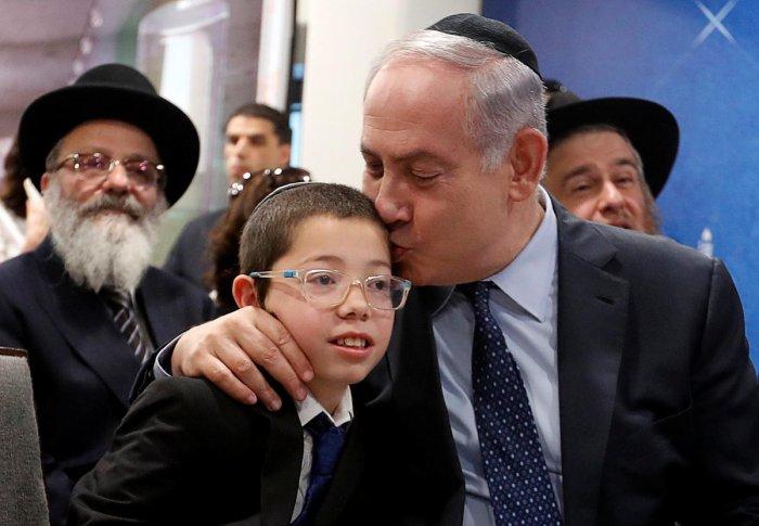 Netanyahu visits Nariman House