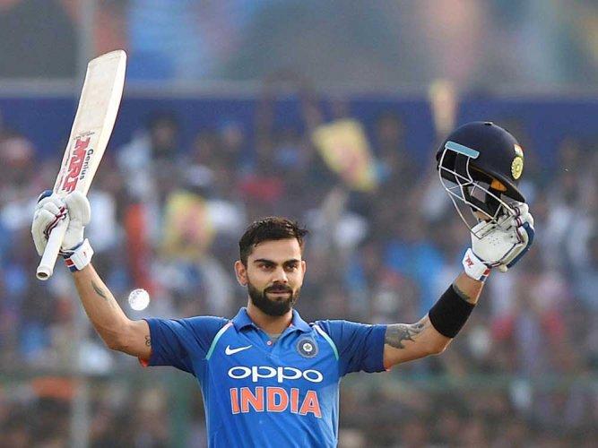 Kohli becomes second India batsman to reach 900-point mark