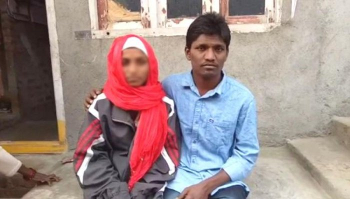 Woman tonsured by parents for marrying against their will