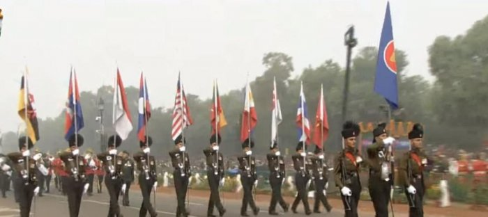 10 ASEAN leaders attend R-DAY parade as chief guests