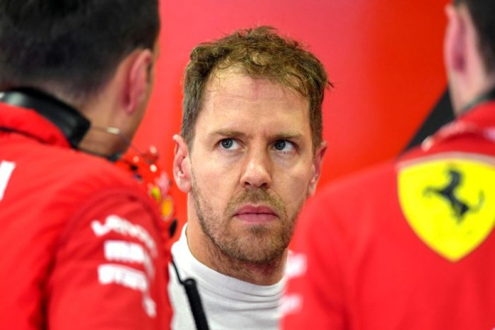 Ferrari's Sebastian Vettel. Picture credit: AFP