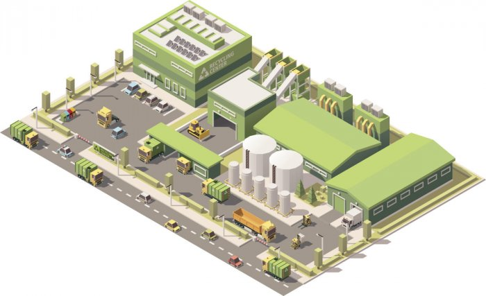 Go green and recycle construction waste