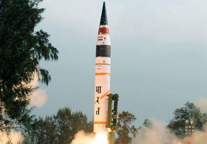 India successfully test-fires nuclear-capable Agni-I