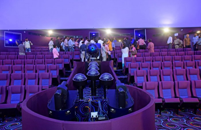 Reach for the stars at this 3D Hybrid Planetarium in Pilikula