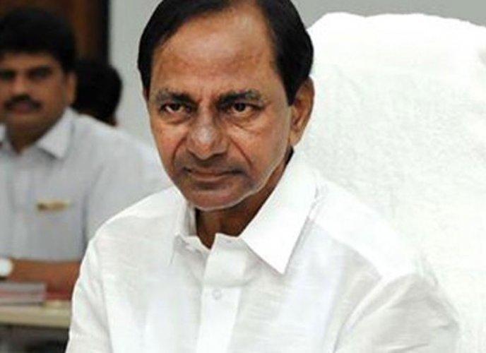 Telangana Chief Minister K Chandrasekhar Rao. (PTI Photo)