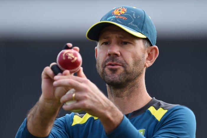 Australia's assistant coach Ricky Ponting. (AFP Photo)